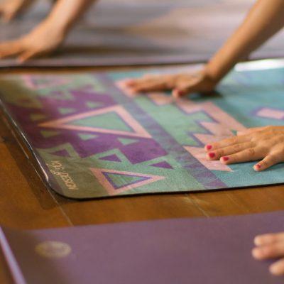 downward dog hands, yoga desgin lab mat